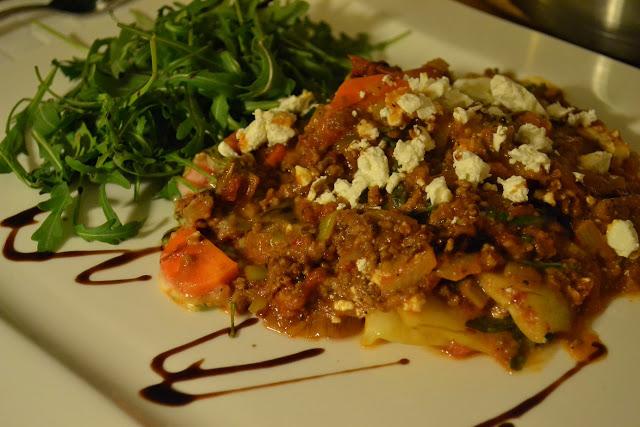 Lasagne med vitkål och fetaost