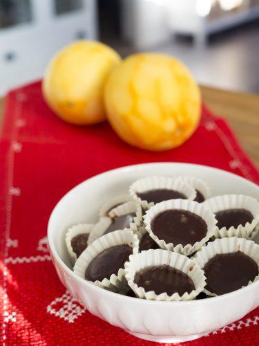 Chokladknäck med apelsin