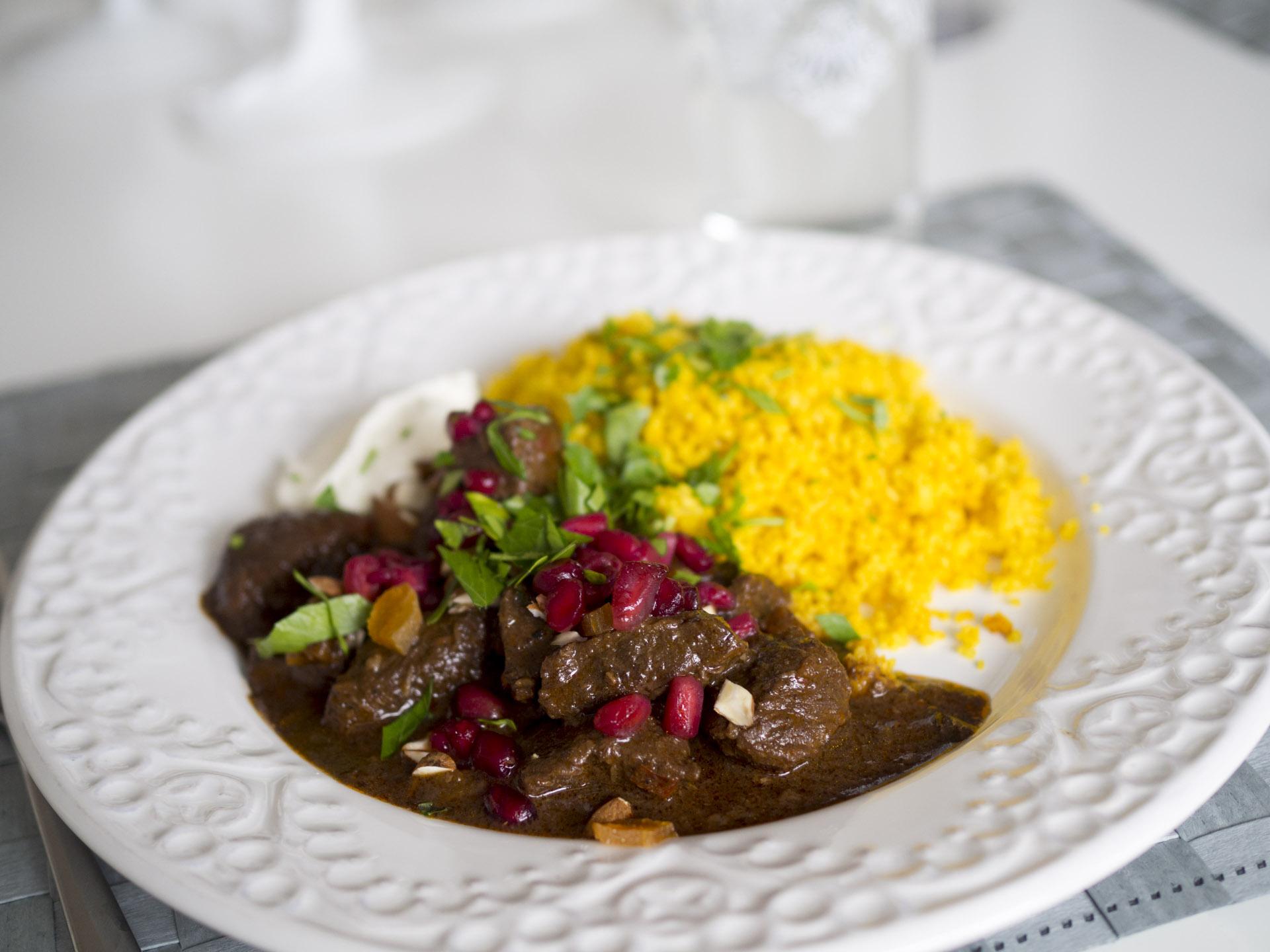 Marockansk gryta med couscous