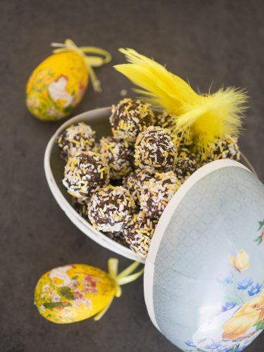 Chokladbollar till påsk