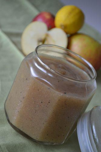 Kryddigt äppelmos