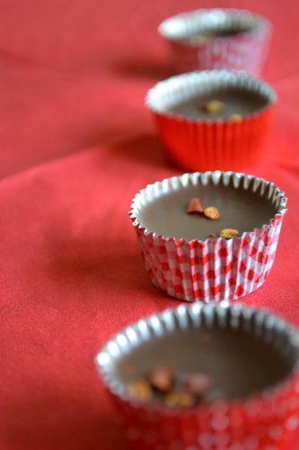 Ischoklad med nougat och chili