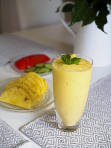 Ananassmoothie med mango