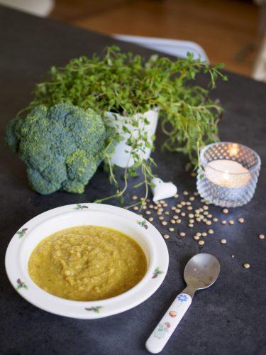Broccolisoppa med linser