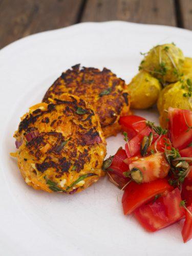 Morotsbiffar med currypotatis