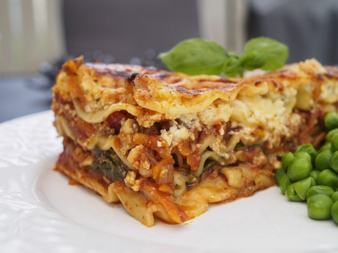 Lasagne till många