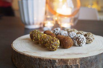 Tahinibollar med nötter
