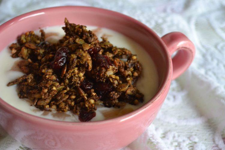Göra egen müsli - pumpin pie granola