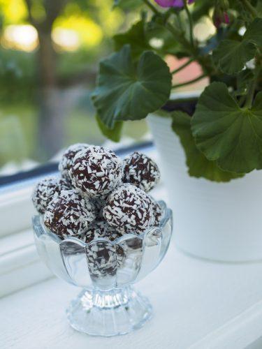 Klassiska chokladbollar