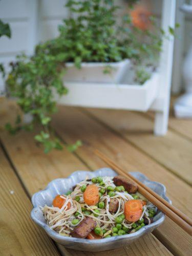 Tofuwok med bambuskott